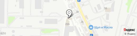 Теплобренд на карте Ростова-на-Дону