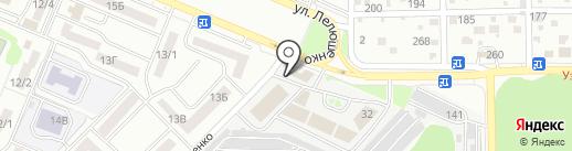 Русский фейерверк на карте Ростова-на-Дону