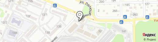 Магазин автозапчастей для Peugeot, Renault, Citroen на карте Ростова-на-Дону