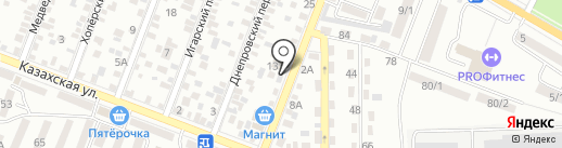 Вип-Медиа на карте Ростова-на-Дону