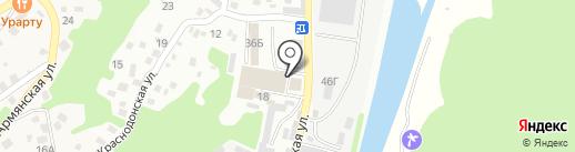 Сталь Декор Сервис на карте Сочи