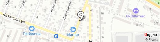 Аккумуляторы Юга на карте Ростова-на-Дону
