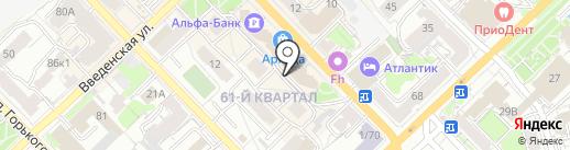 Букетик33.ru на карте Рязани