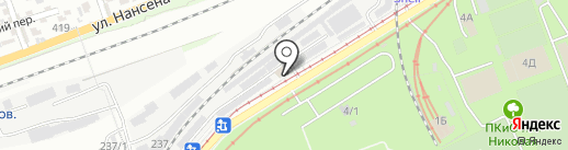 ВЕЛИКАН на карте Ростова-на-Дону