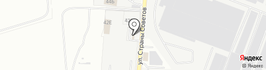 Чашка на карте Ростова-на-Дону