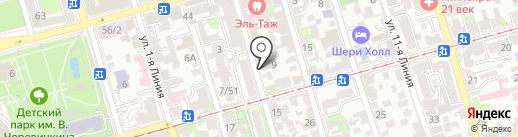 Селена на карте Ростова-на-Дону