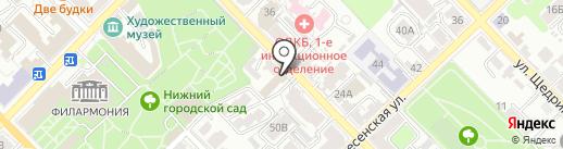 ЧИХ-ПЫХ на карте Рязани