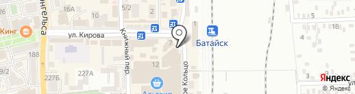 Книжный магазин на карте Батайска