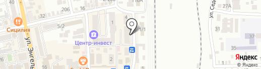 В форме на карте Батайска