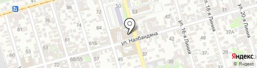 Модный каприз на карте Ростова-на-Дону