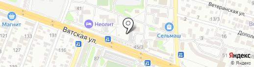 Эдельвейс-2000 на карте Ростова-на-Дону