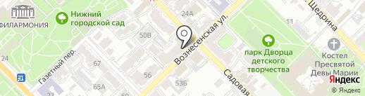 СемьЯ на карте Рязани