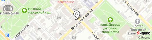 Кабинет психолога Гунькова Ю.В. на карте Рязани