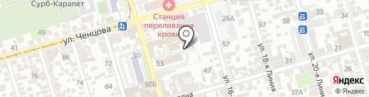 Радиатор Спрингс на карте Ростова-на-Дону