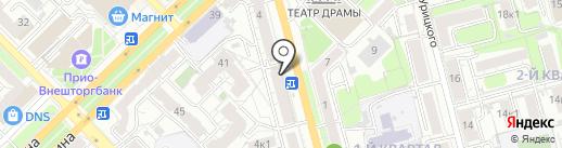 Tele2 на карте Рязани