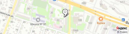 Евротекс на карте Ростова-на-Дону