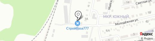 Стройбаза 61 на карте Батайска