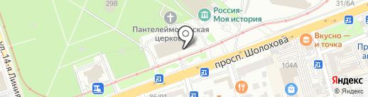 ОфисМаг на карте Ростова-на-Дону