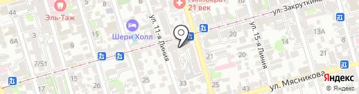 Мастерская по ремонту бытовой техники на карте Ростова-на-Дону