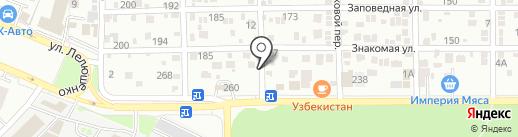 АЙРОКНА на карте Ростова-на-Дону