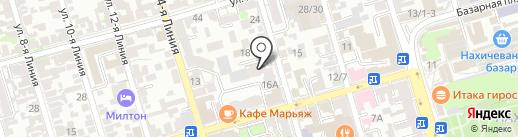 Наш городъ на карте Ростова-на-Дону