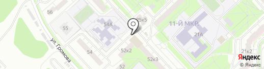 Мировые судьи Дзержинского района на карте Ярославля