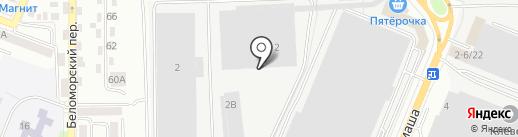 Троя Групп на карте Ростова-на-Дону