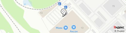 Галерея плитки на карте Ярославля