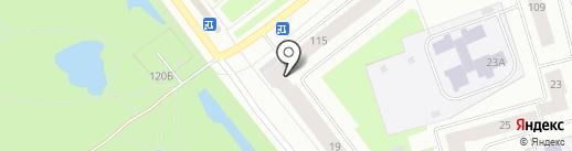 Хмель на карте Северодвинска
