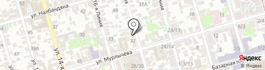 Aleksey Mass на карте Ростова-на-Дону