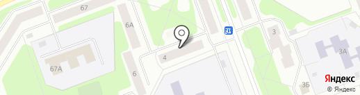 Магазин товаров для дома и дачи на карте Северодвинска