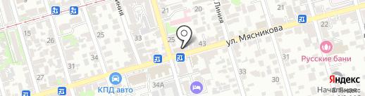Элина на карте Ростова-на-Дону