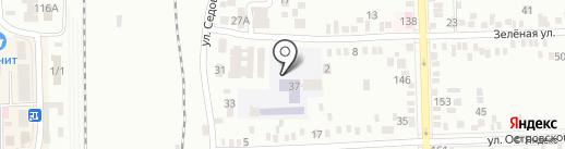 Профессиональное училище №42 на карте Батайска