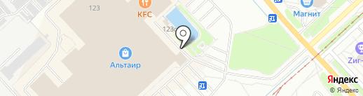 Лесси на карте Ярославля