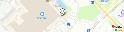 Лапоток на карте Ярославля