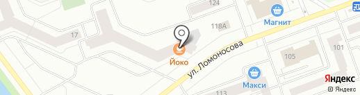 Участковый пункт полиции №4 на карте Северодвинска