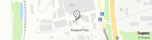 Маско-Гласс Про на карте Батайска