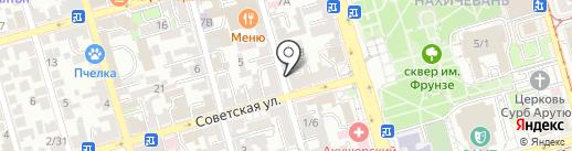Барбарис на карте Ростова-на-Дону