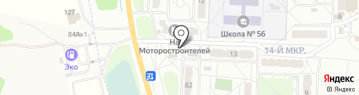 Магазин по продаже рыбы на карте Ярославля