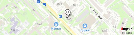 БАУНТИ на карте Ярославля