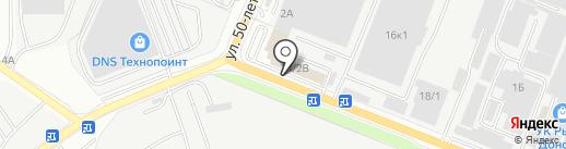 ТОЧПРИБОР на карте Ростова-на-Дону