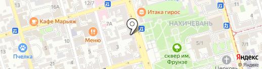 Грош доступные займы на карте Ростова-на-Дону