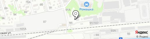 СИРИУС на карте Ростова-на-Дону