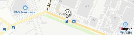 ГринФилд-Агро на карте Ростова-на-Дону