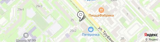 Округ на карте Ярославля