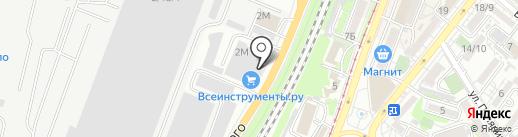Эвтихия на карте Ростова-на-Дону