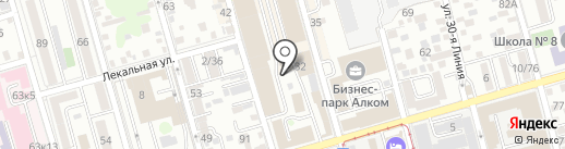 Мангал Хаус на карте Ростова-на-Дону