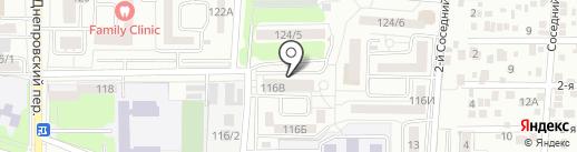Водный мир на карте Ростова-на-Дону