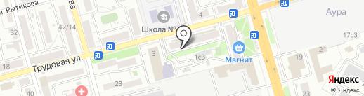 Фотосалон на карте Рязани