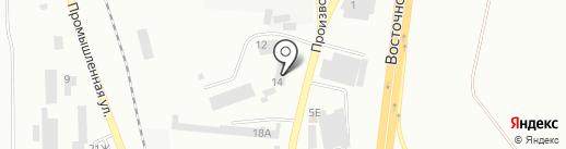 Бэхтранс, ЗАО на карте Батайска